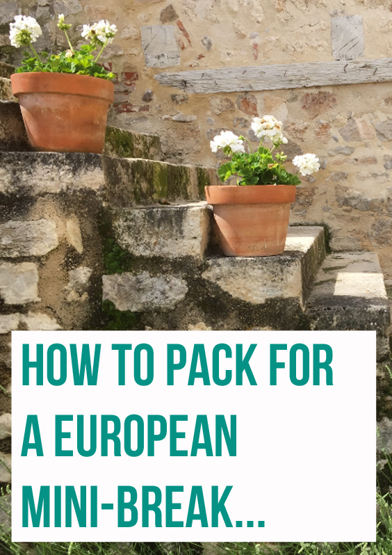 packing-for-a-european-mini-break