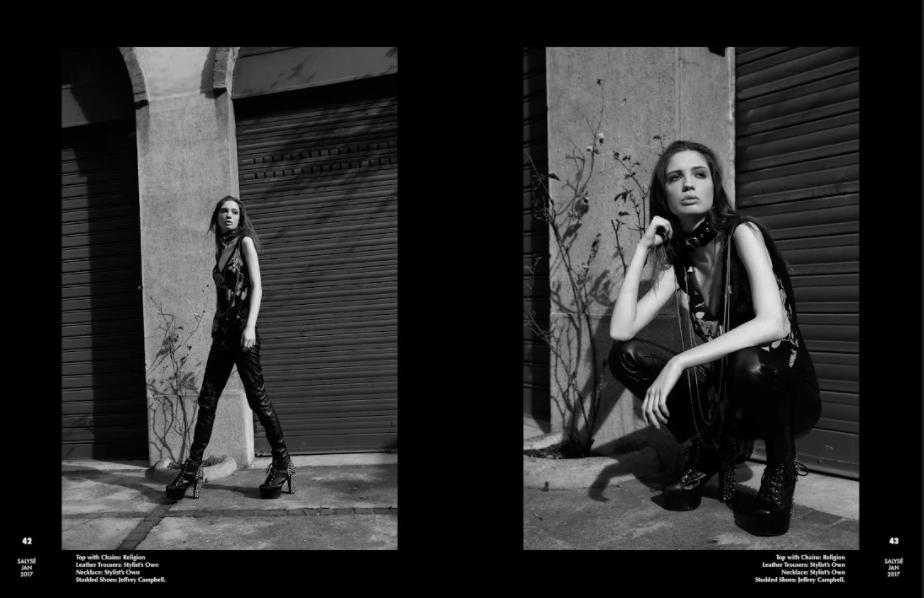 Salyse Magazine - Allegra Ghiloni